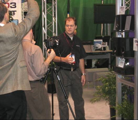 Interview during NAMM