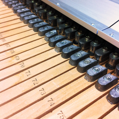 Piano weights on Kurzweil MIDIboard